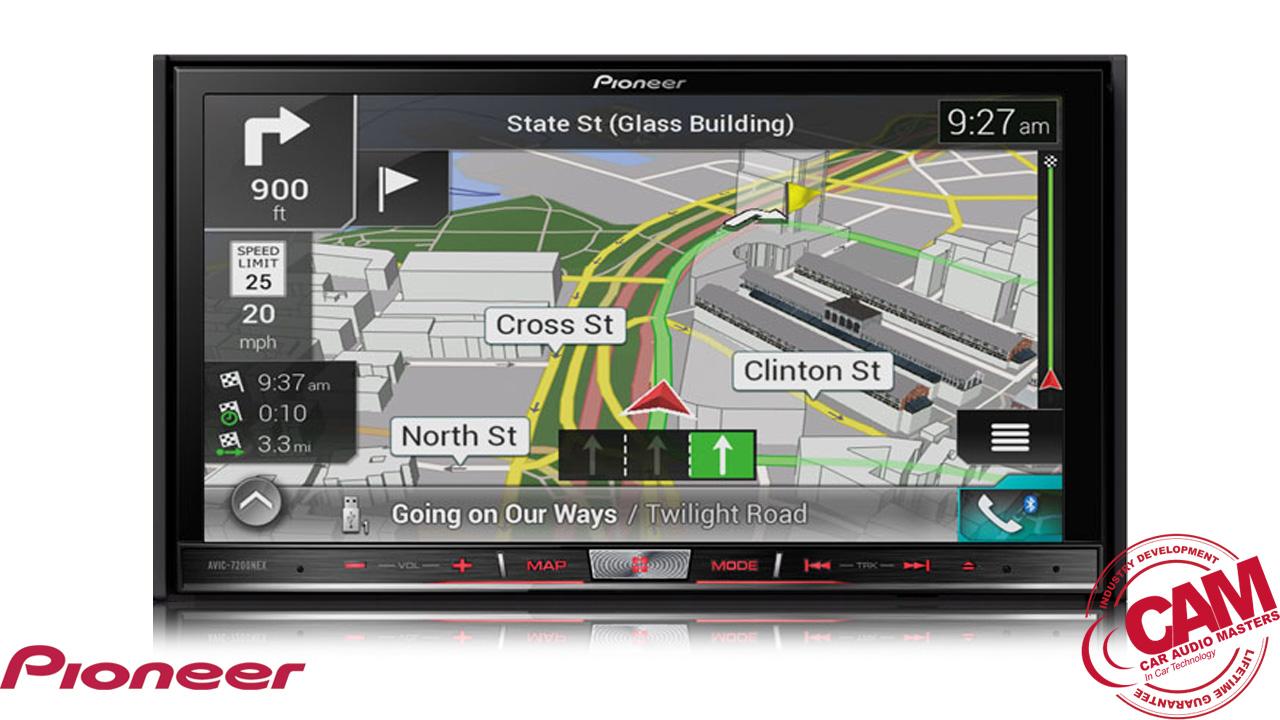 pioneer avic-f80dab multi media navigation.