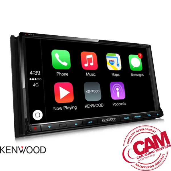 Kenwood DMX7017BTS Multi-media car AV-Receiver