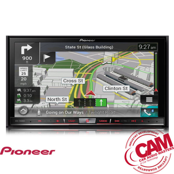pioneer avic-f80dab multi media navigation
