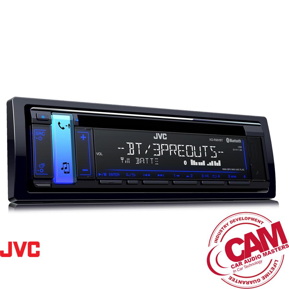 Nearest Auto Shop >> JVC KD-R991BT Bluetooth CD Receiver - Car Audio Masters (CAM)