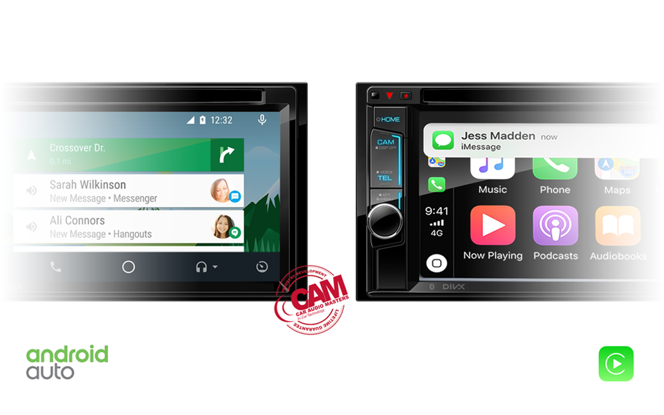 Apple CarPlay and Android Auto Messages