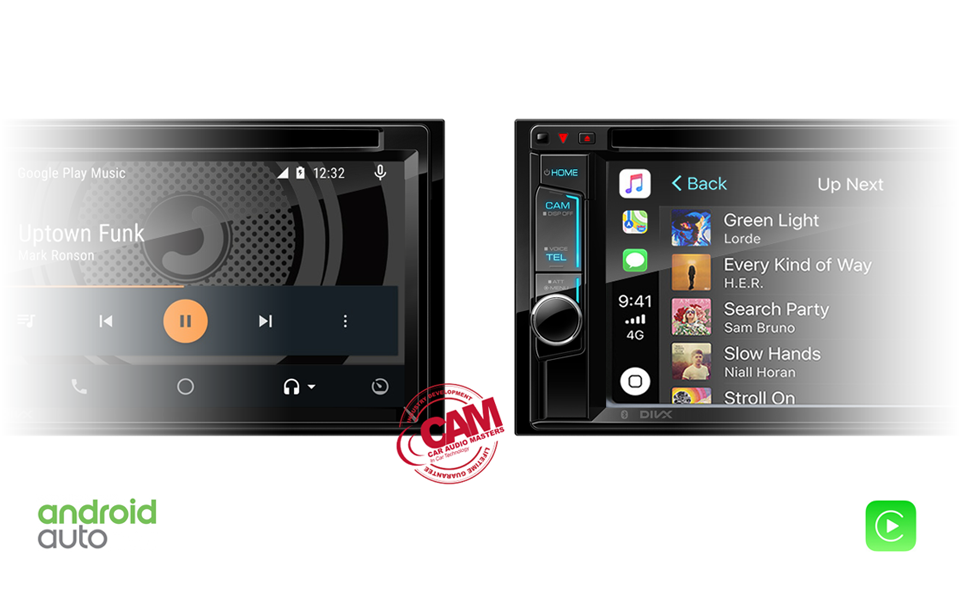 Apple CarPlay and Android Auto Music