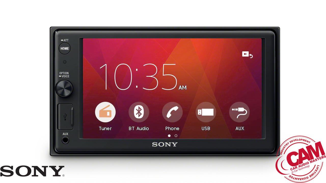 sony XAV-AX1000 multi media navigation.