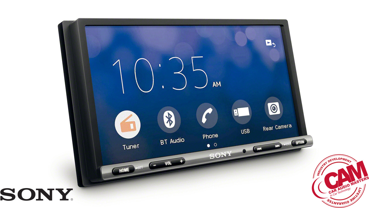 sony XAV-AX3000 multi media navigation.