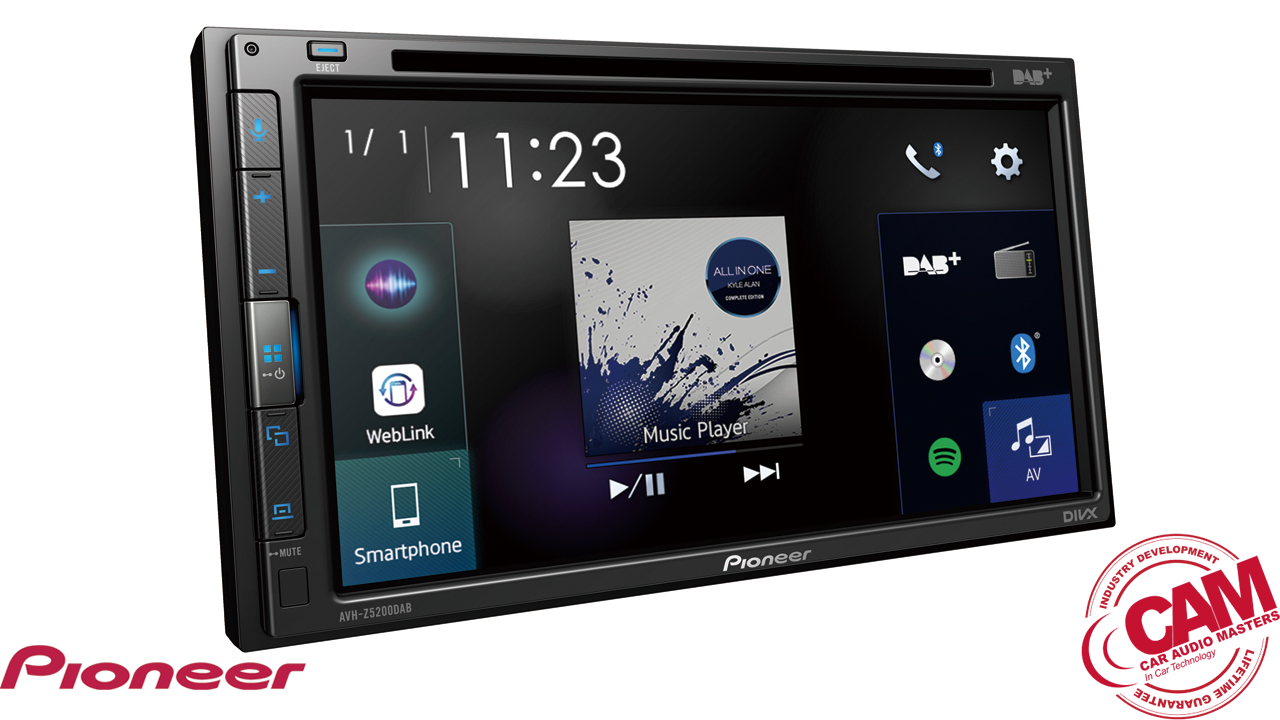 pioneer avhz5200dab multi media navigation.