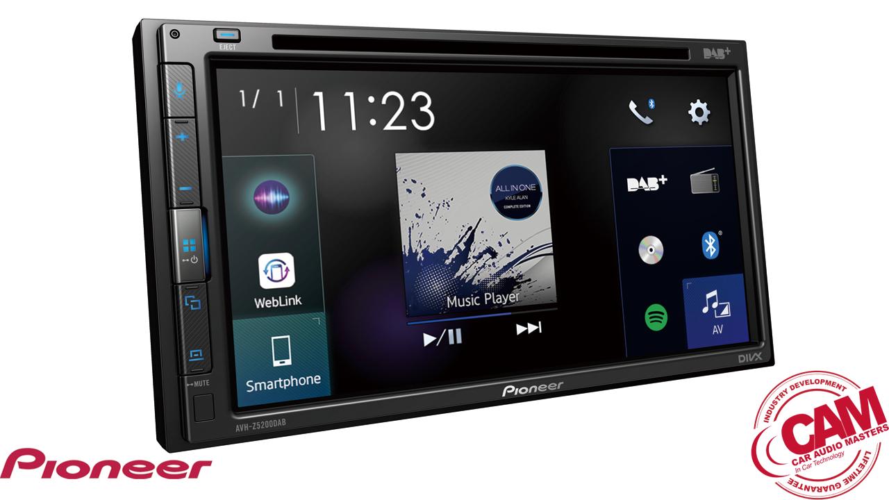 pioneer avhz5200dab multi media navigation.