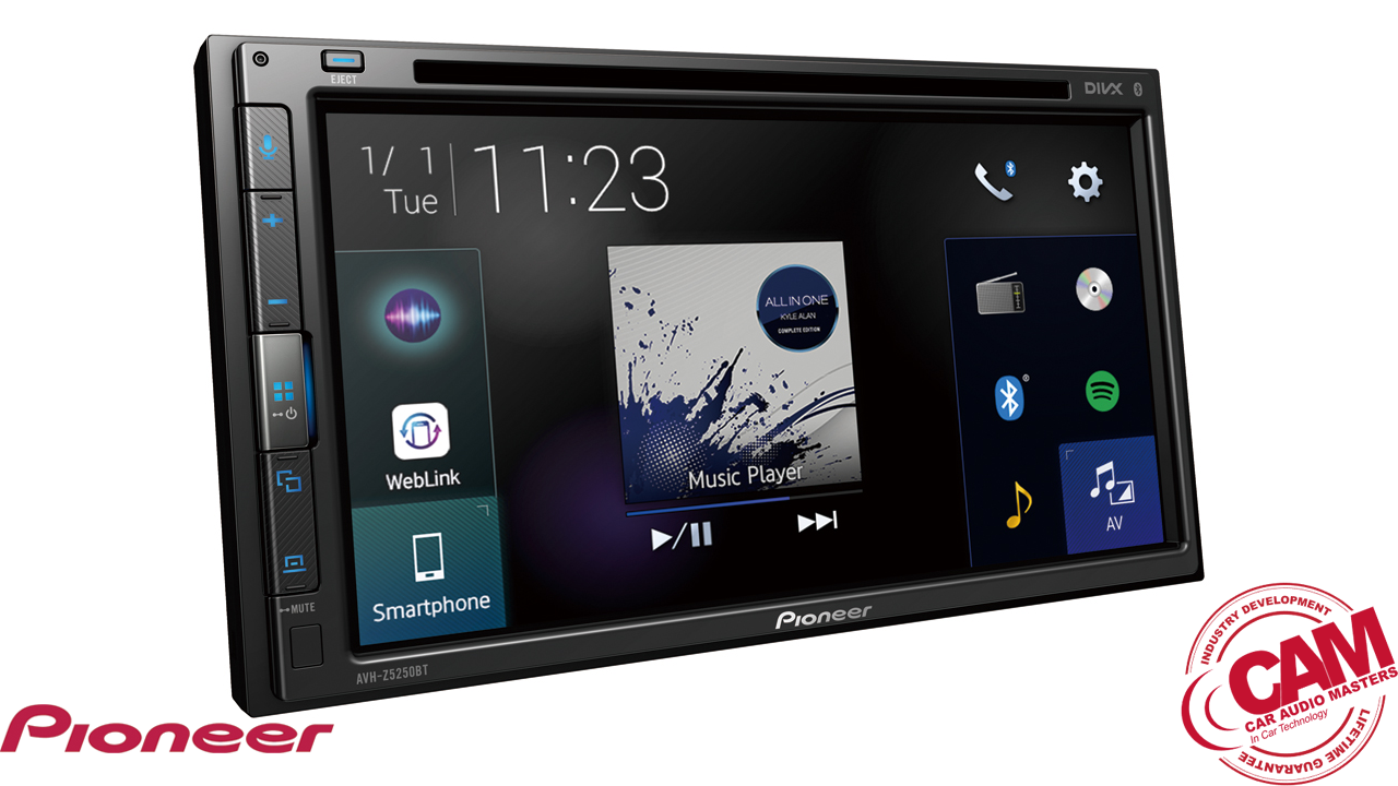 pioneer avhz5250bt multi media navigation.
