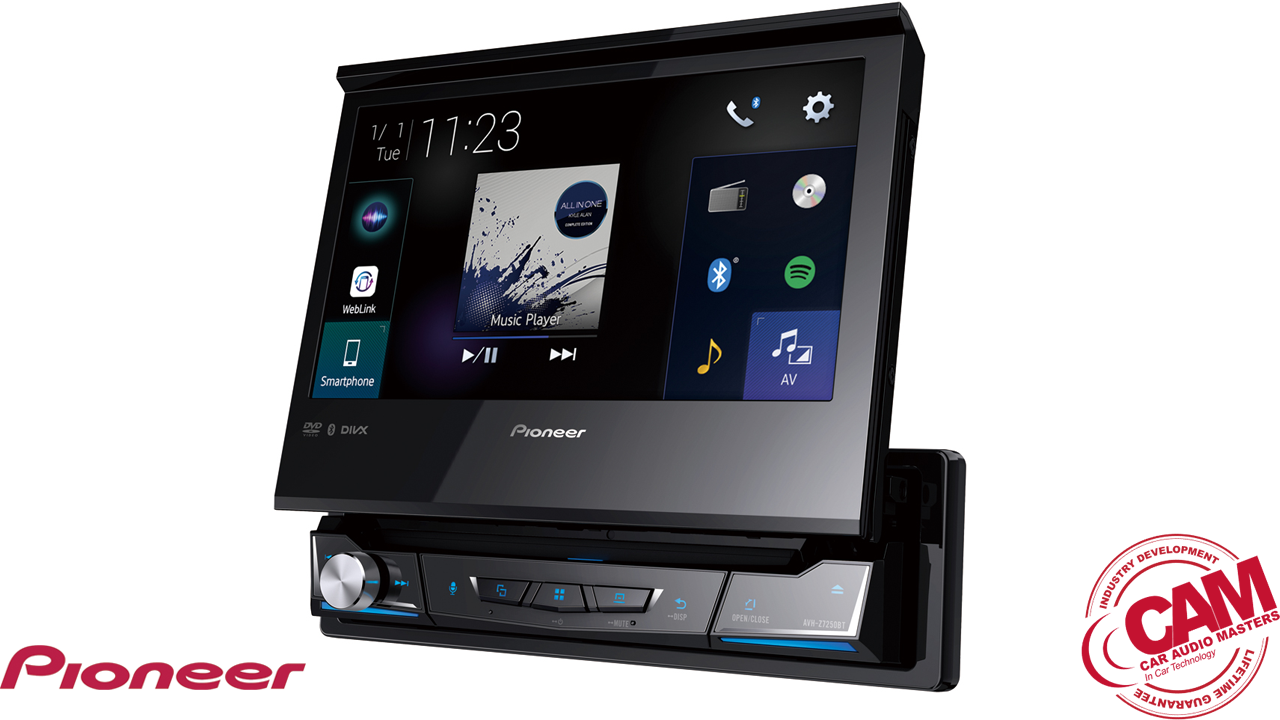 pioneer avhz7250bt multi media navigation.