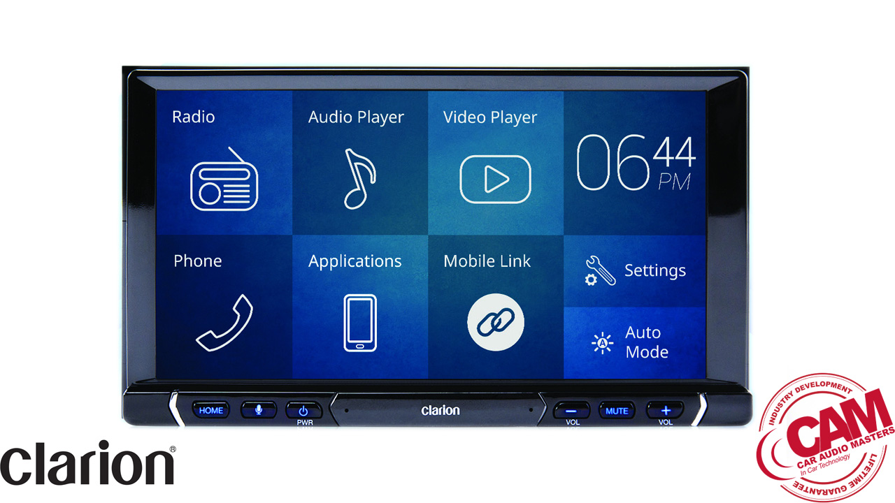 clarion FX688A multi media navigation.