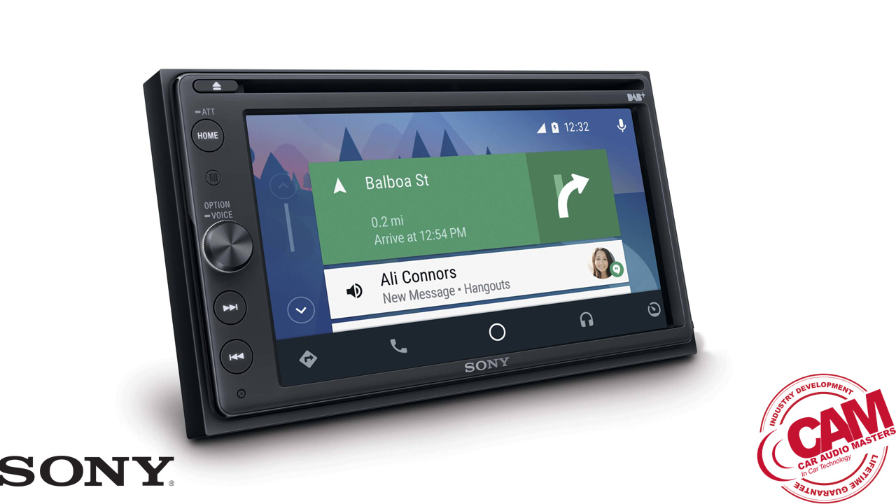 sony fav-ax205db multi media navigation.